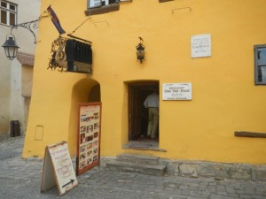Sighisoara - Dracula Restaurant