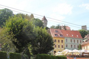 Sighisoara - Looking Up
