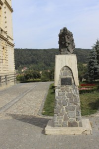 Sighisoara - Tepes Statue
