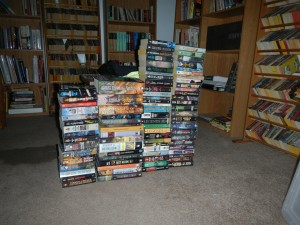 Some of the books published by Tor in my collection.